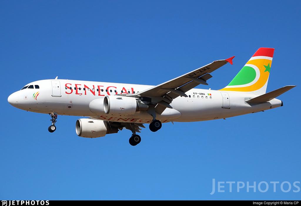 6V-AMA - Airbus A319-111 - Air Senegal