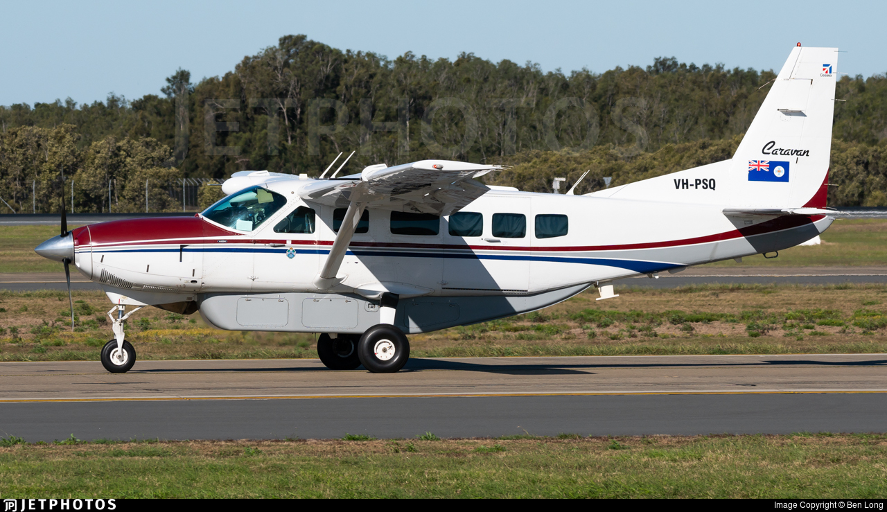 VH-PSQ - Cessna 208 Caravan - Australia - Queensland Police
