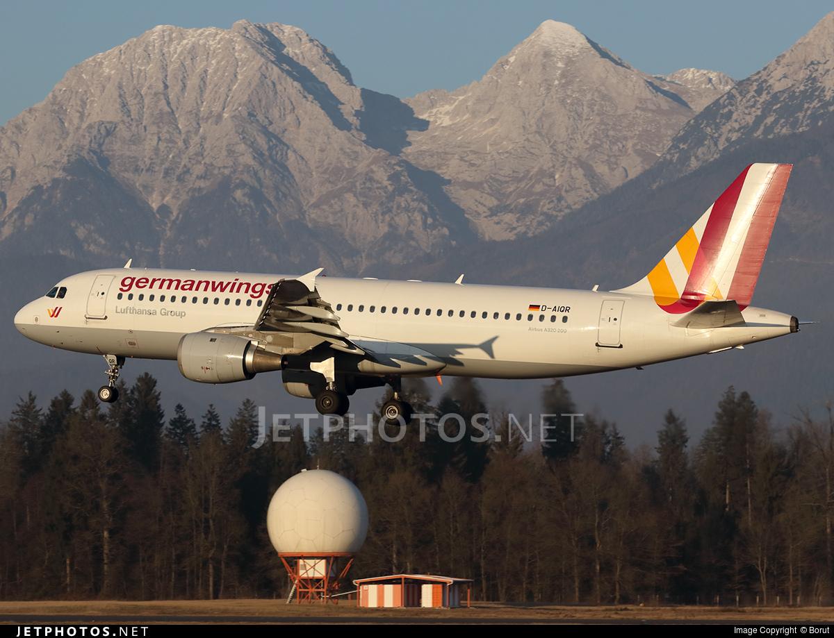 D-AIQR - Airbus A320-211 - Germanwings