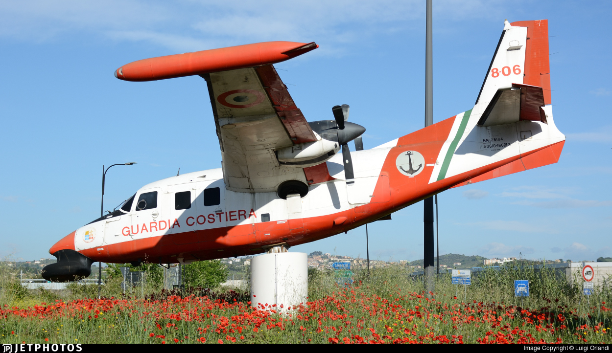 MM25164 - Piaggio P-166DL3-SEM - Italy - Coast Guard