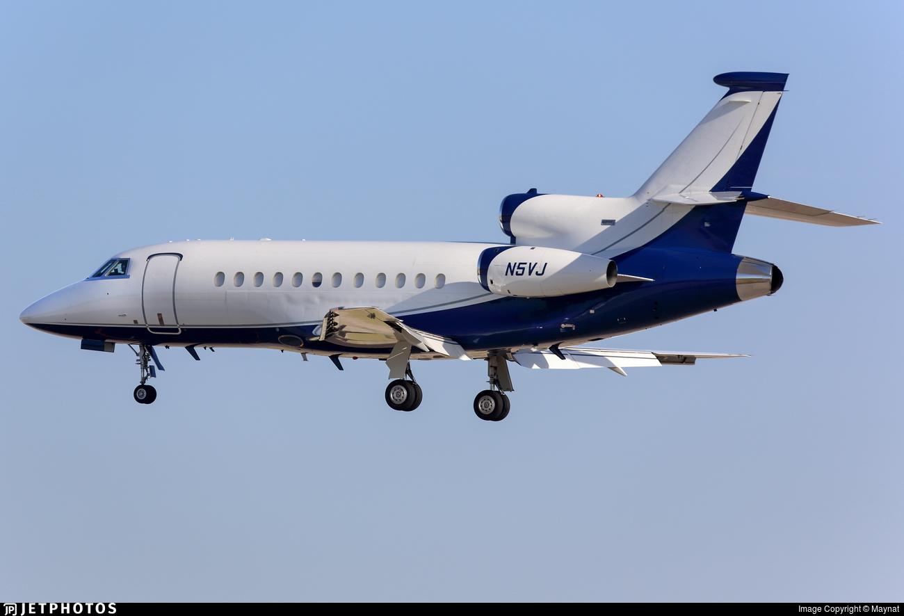 N5VJ - Dassault Falcon 900 - Private