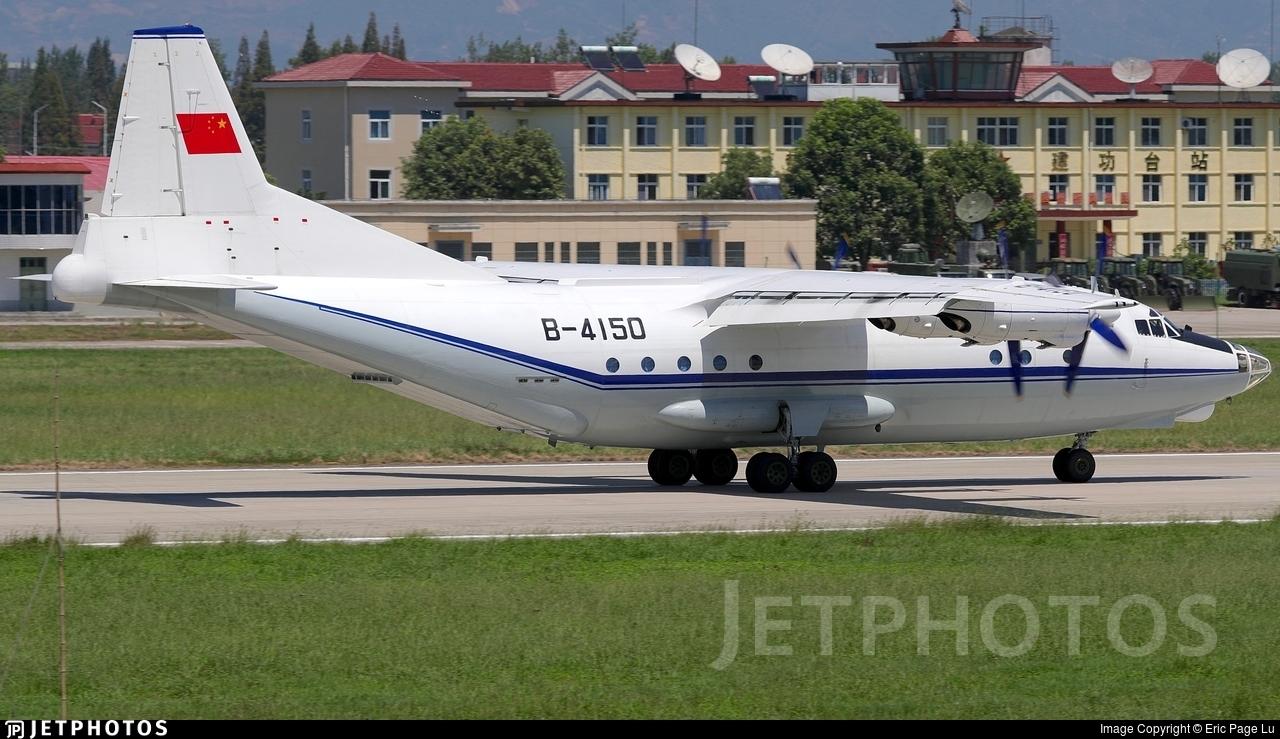 B-4150 - Shaanxi Y-8F-100 - Civil Aviation Administration of China (CAAC)