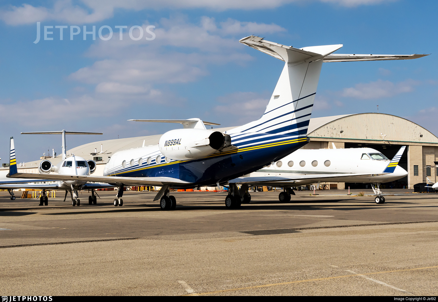 N899AL - Gulfstream G-IV - Private
