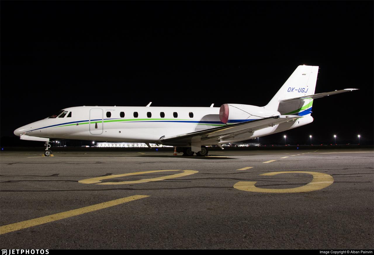 OK-UGJ - Cessna 680 Citation Sovereign - SmartWings
