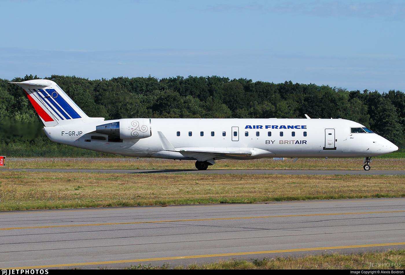 F-GRJP - Bombardier CRJ-100ER - Air France (Brit Air)