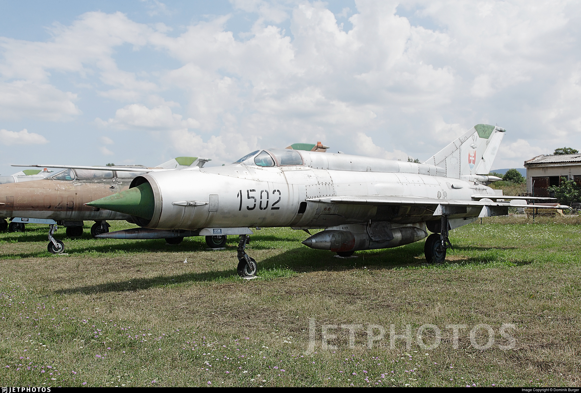 1502 - Mikoyan-Gurevich MiG-21R Fishbed H - Slovakia - Air Force