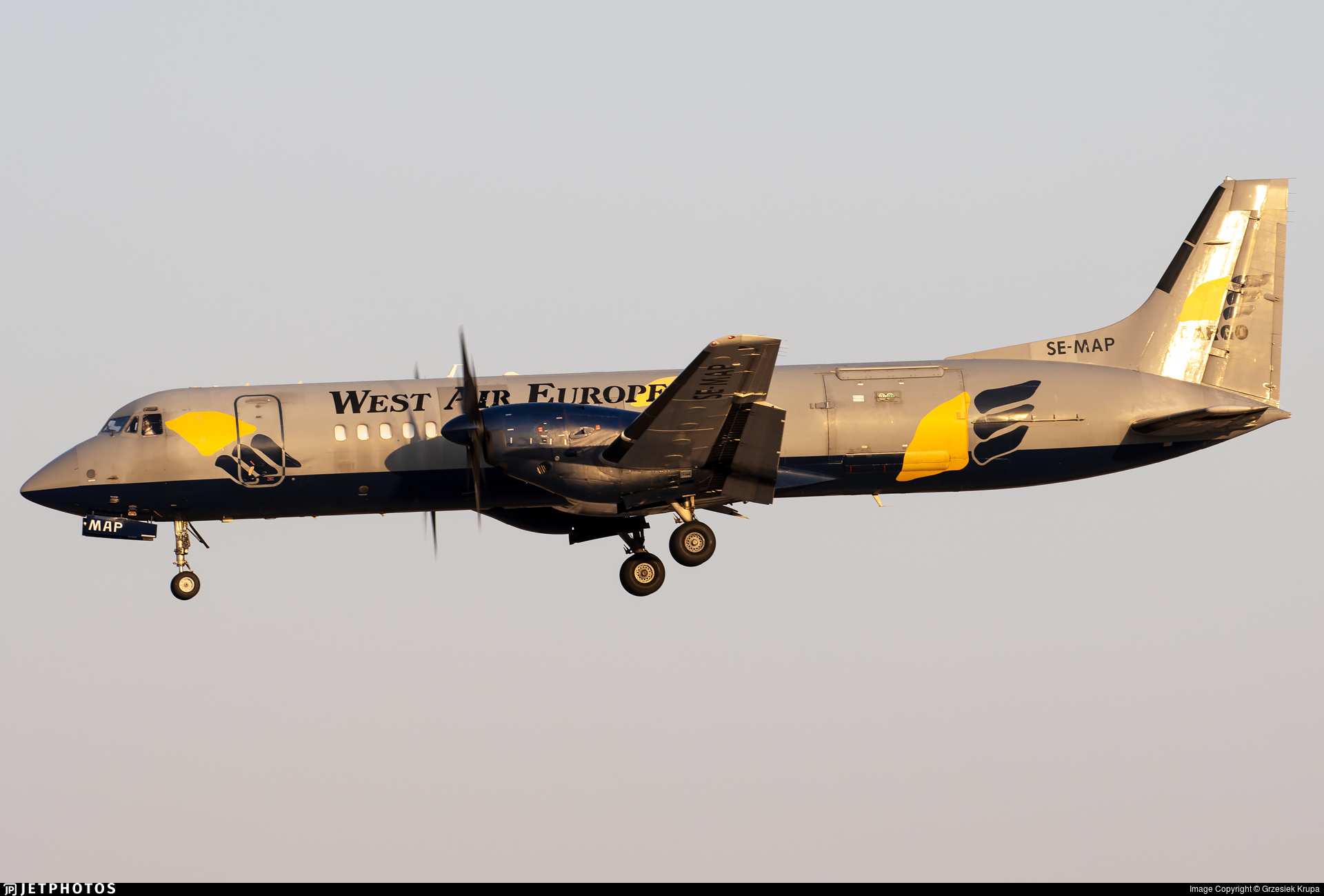 SE-MAP - British Aerospace ATP-F(LFD) - West Air Europe