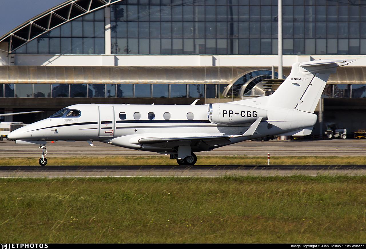 PP-CGG - Embraer 505 Phenom 300 - Private