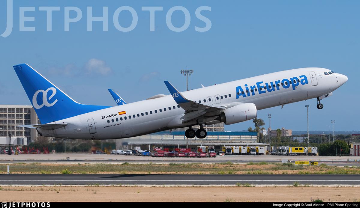 EC-MQP - Boeing 737-85P - Air Europa