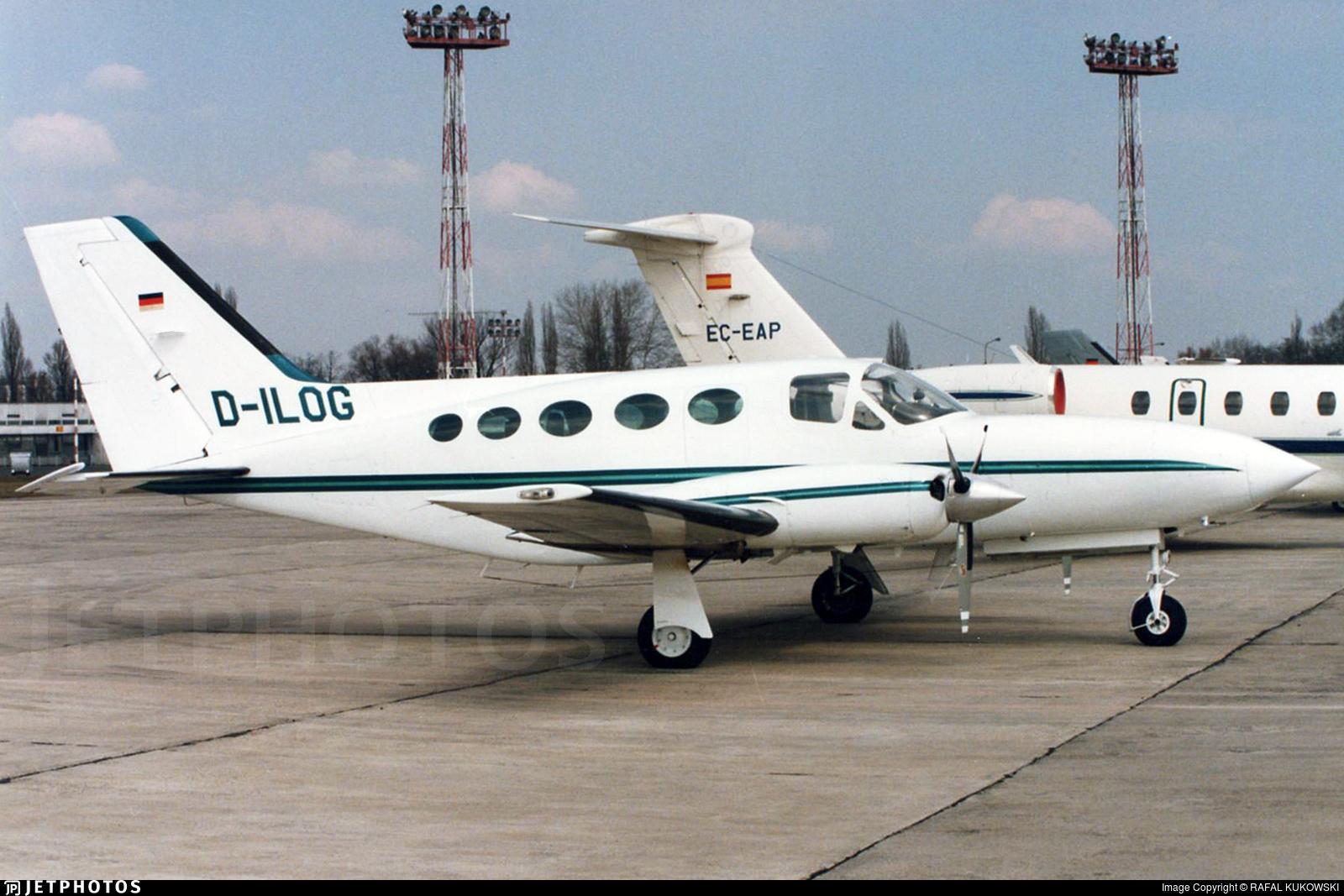 D-ILOG - Cessna 414 Chancellor - Private