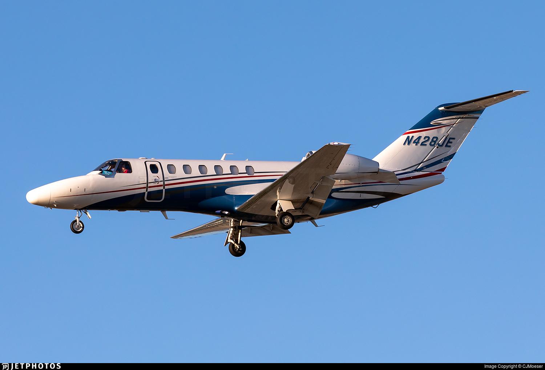 N428JE - Cessna 525 Citationjet CJ3 - Private