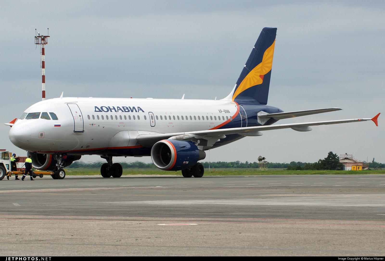 VP-BNN - Airbus A319-111 - Donavia