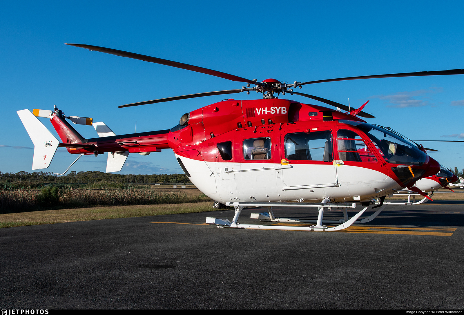 VH-SYB - Eurocopter EC 145 - CHC Helicopters Australia
