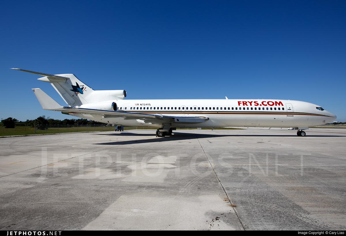 N724YS - Boeing 727-281(Adv) - Private