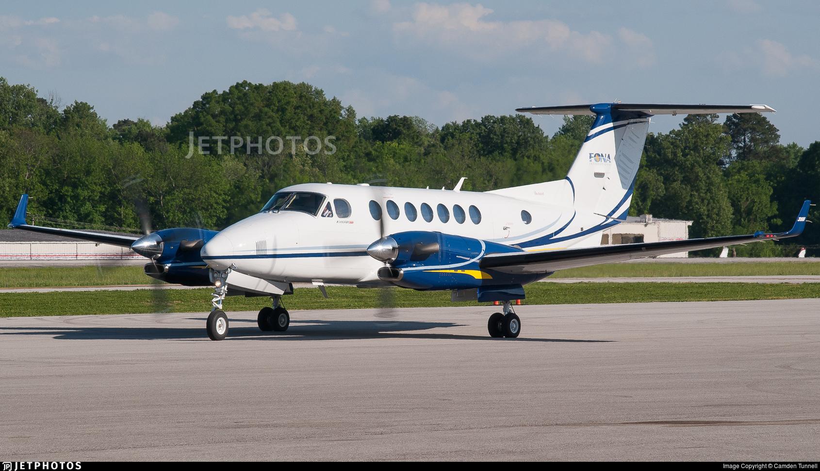 N487SF - Beechcraft B300 King Air 350 - FONA International