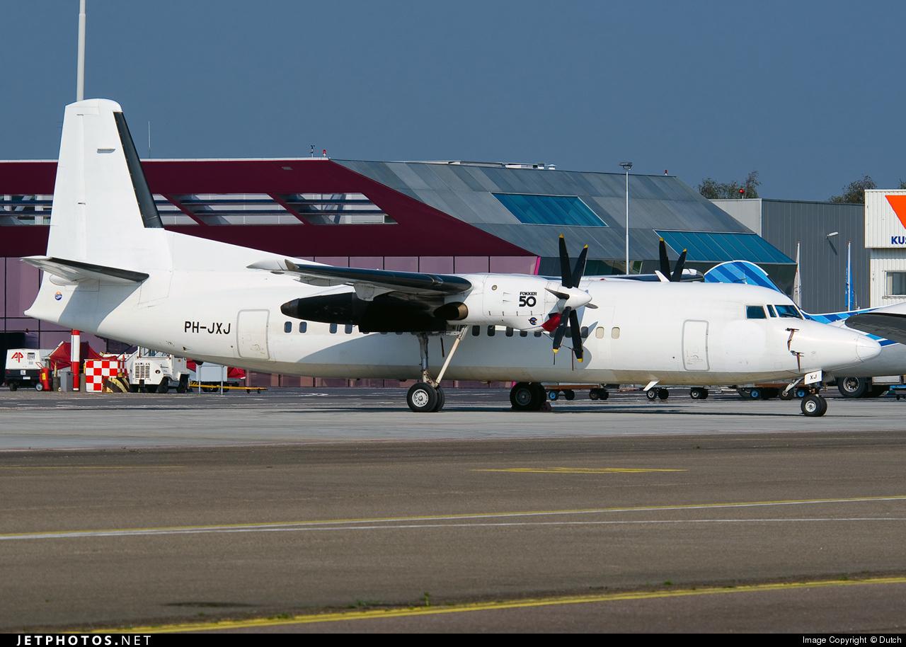 PH-JXJ - Fokker 50 - Denim Air