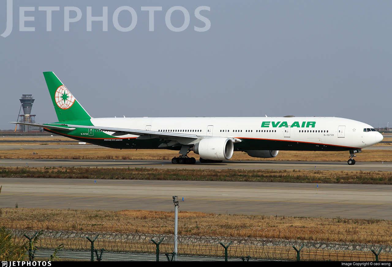 B-16730 - Boeing 777-36NER - Eva Air