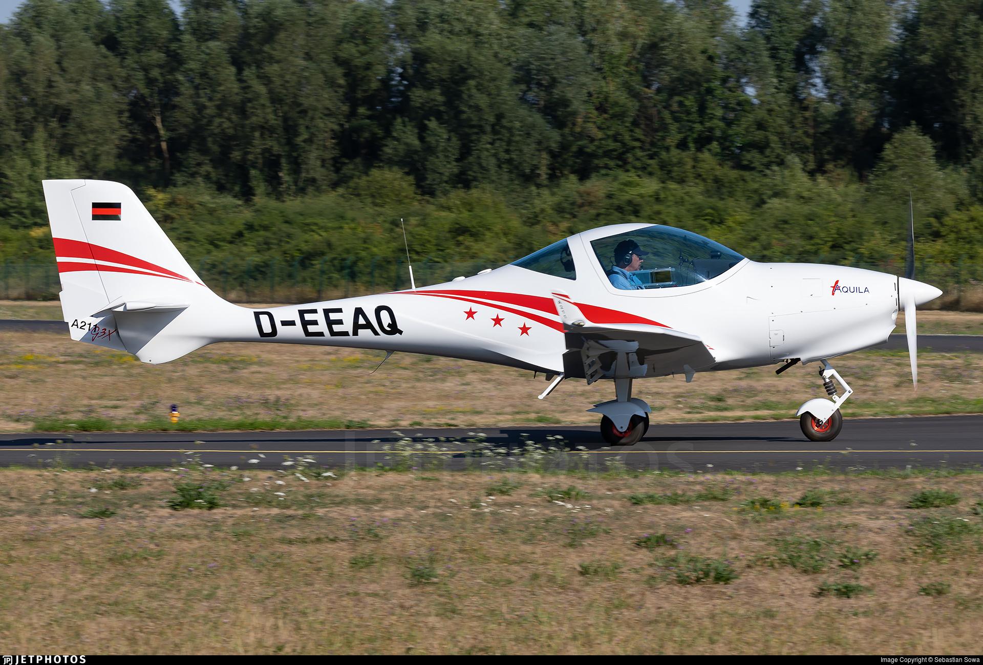 D-EEAQ - Aquila A211G3X - Aquila