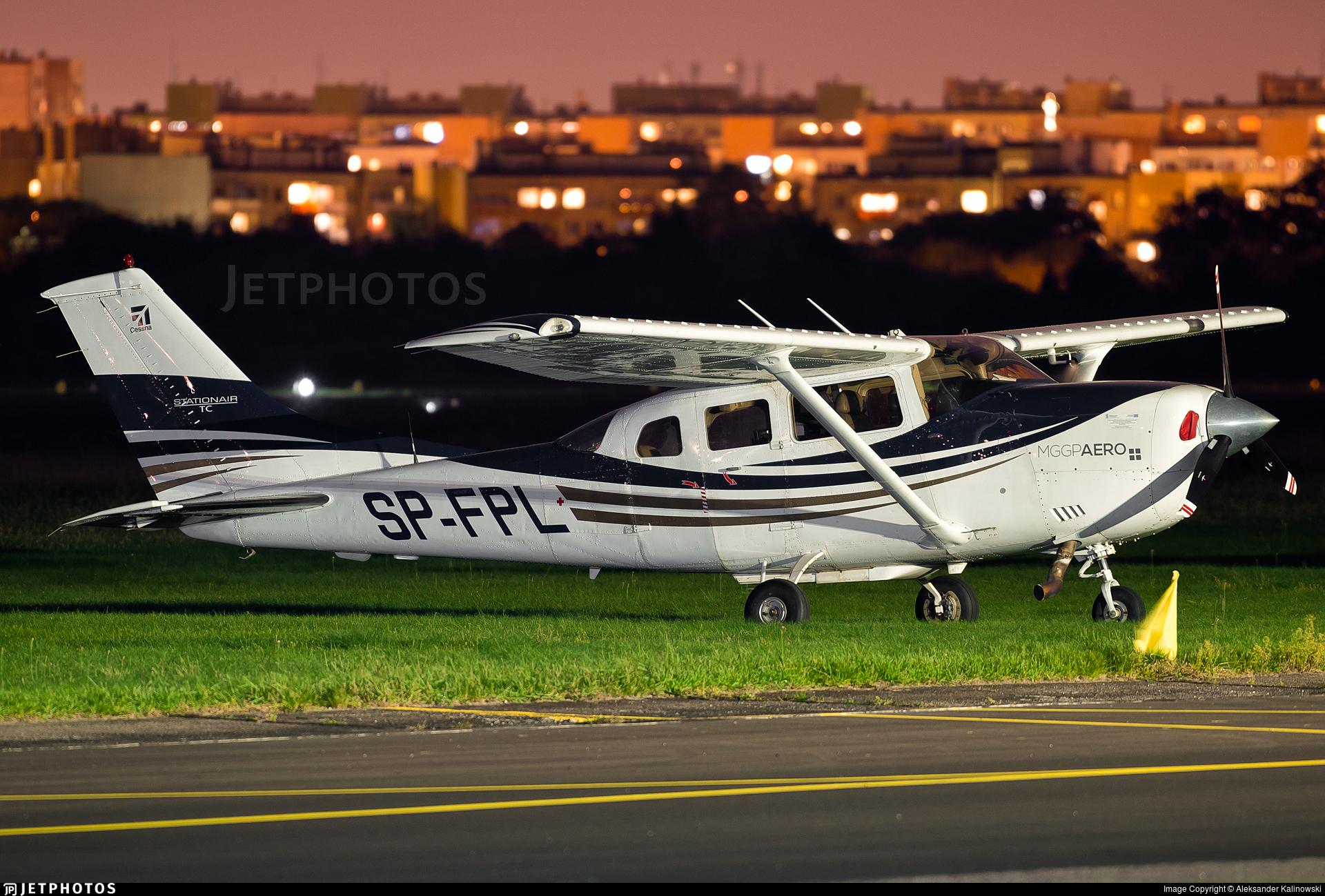 SP-FPL - Cessna 206H Stationair - MGGP Aero