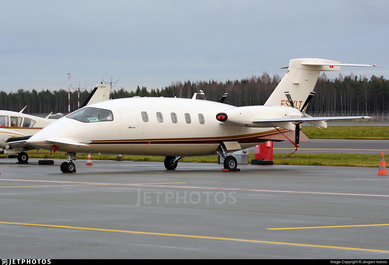 ES-KLT - Piaggio P-180 Avanti - Private