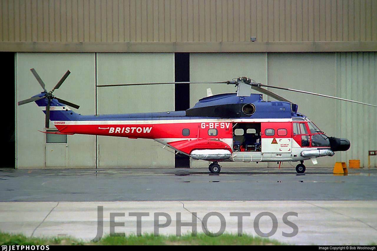 G-BFSV - Aérospatiale SA 330J Puma - Bristow Helicopters