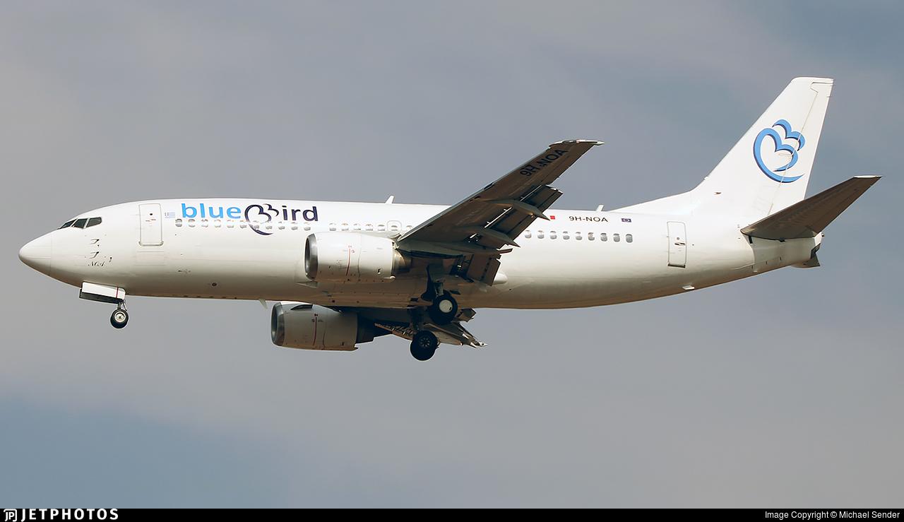 9H-NOA - Boeing 737-33A - Bluebird Airways