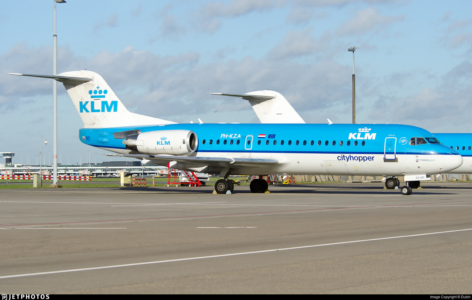 PH-KZA - Fokker 70 - KLM Cityhopper