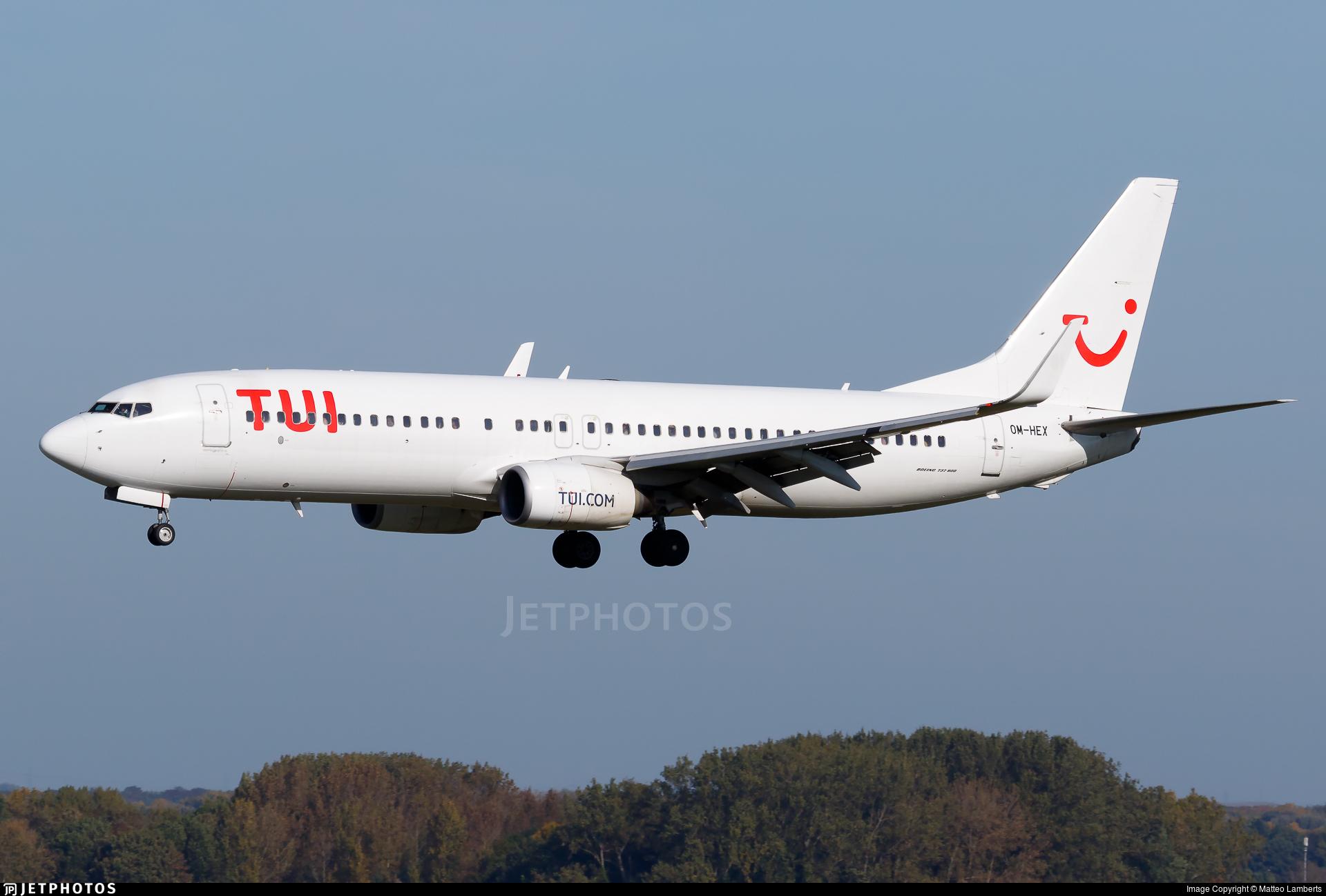 OM-HEX - Boeing 737-81Q - TUI (Air Explore)
