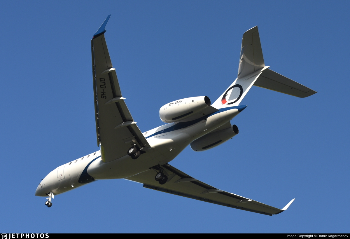 9H-OJO - Bombardier BD-700-1A10 Global 6000 - OJets