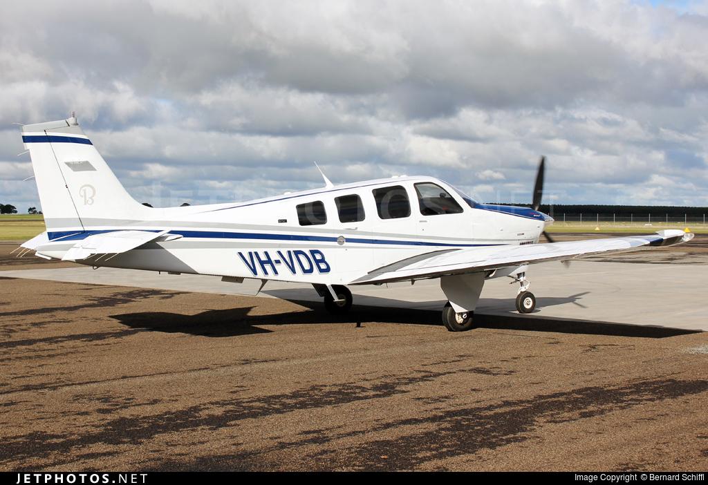 VH-VDB - Beechcraft G36 Bonanza - Private