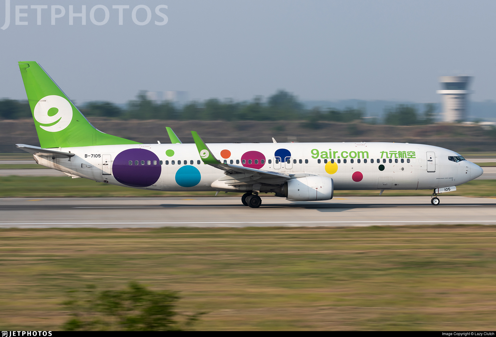 B-7105 - Boeing 737-84P - 9Air