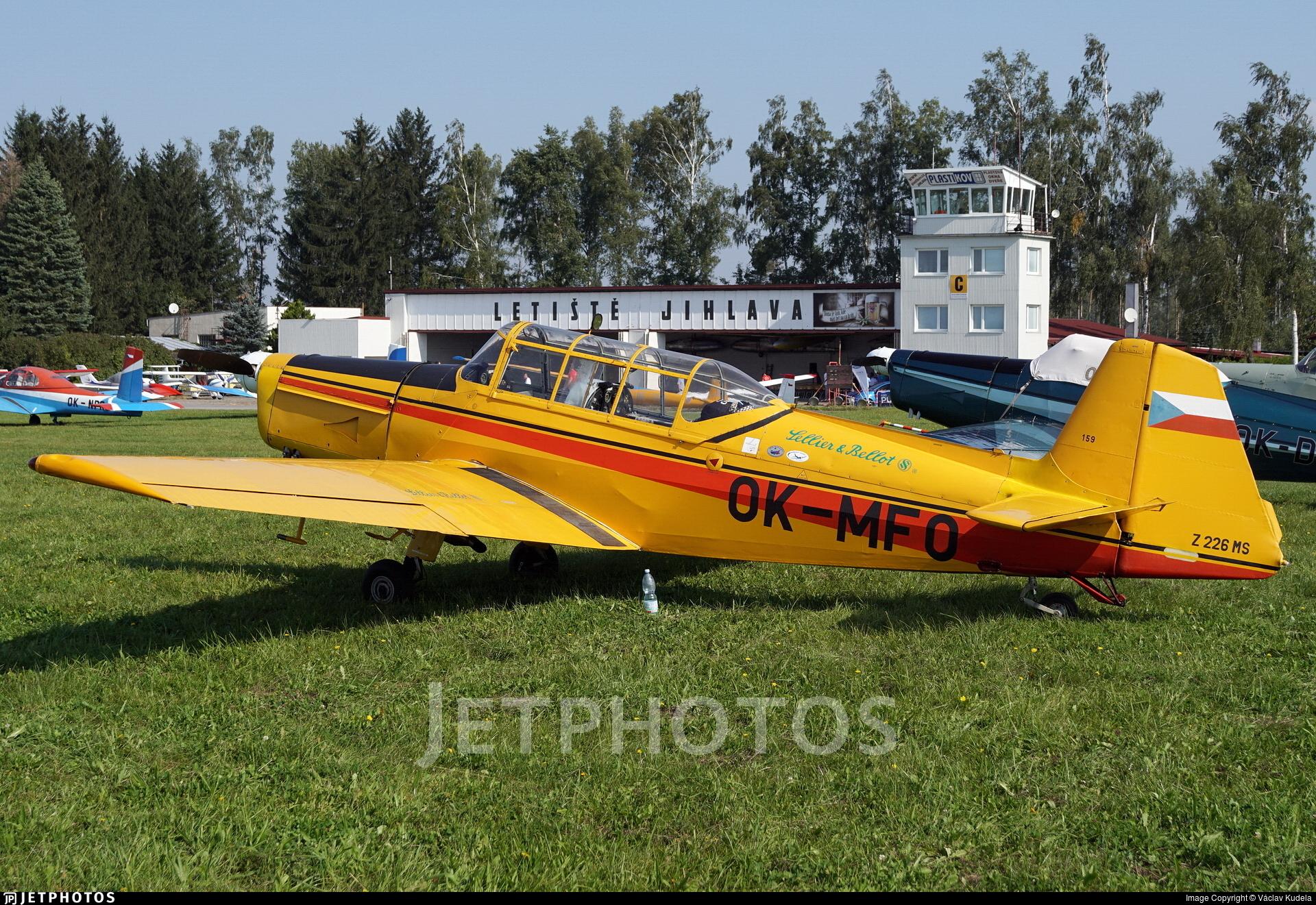 OK-MFO - Zlin 226MS - Aero Club - Vlasim