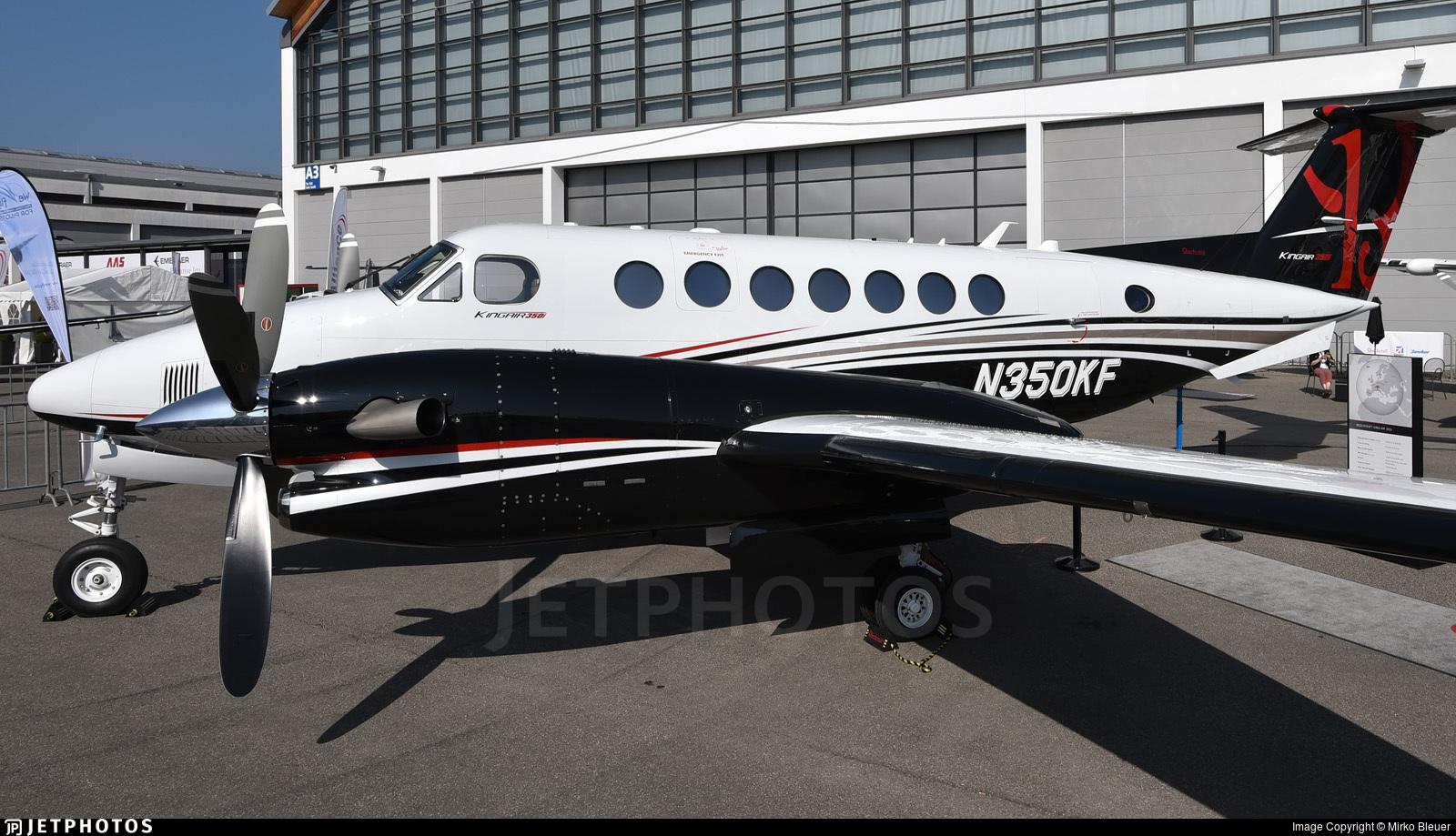 N350KF - Beechcraft B300 King Air 350i - Textron Aviation Inc.