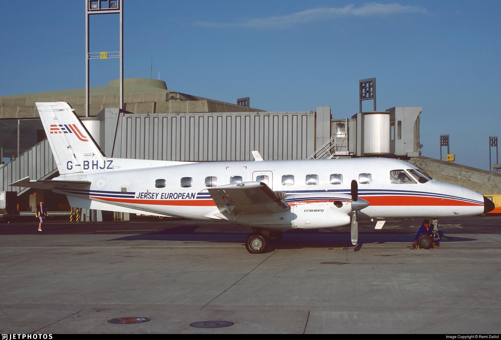 G-BHJZ - Embraer EMB-110P2 Bandeirante - Jersey European Airways