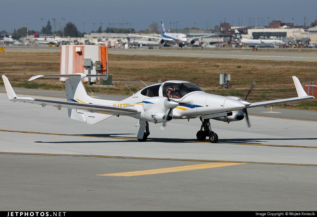 N457TS - Diamond DA-42 NG Twin Star - Private