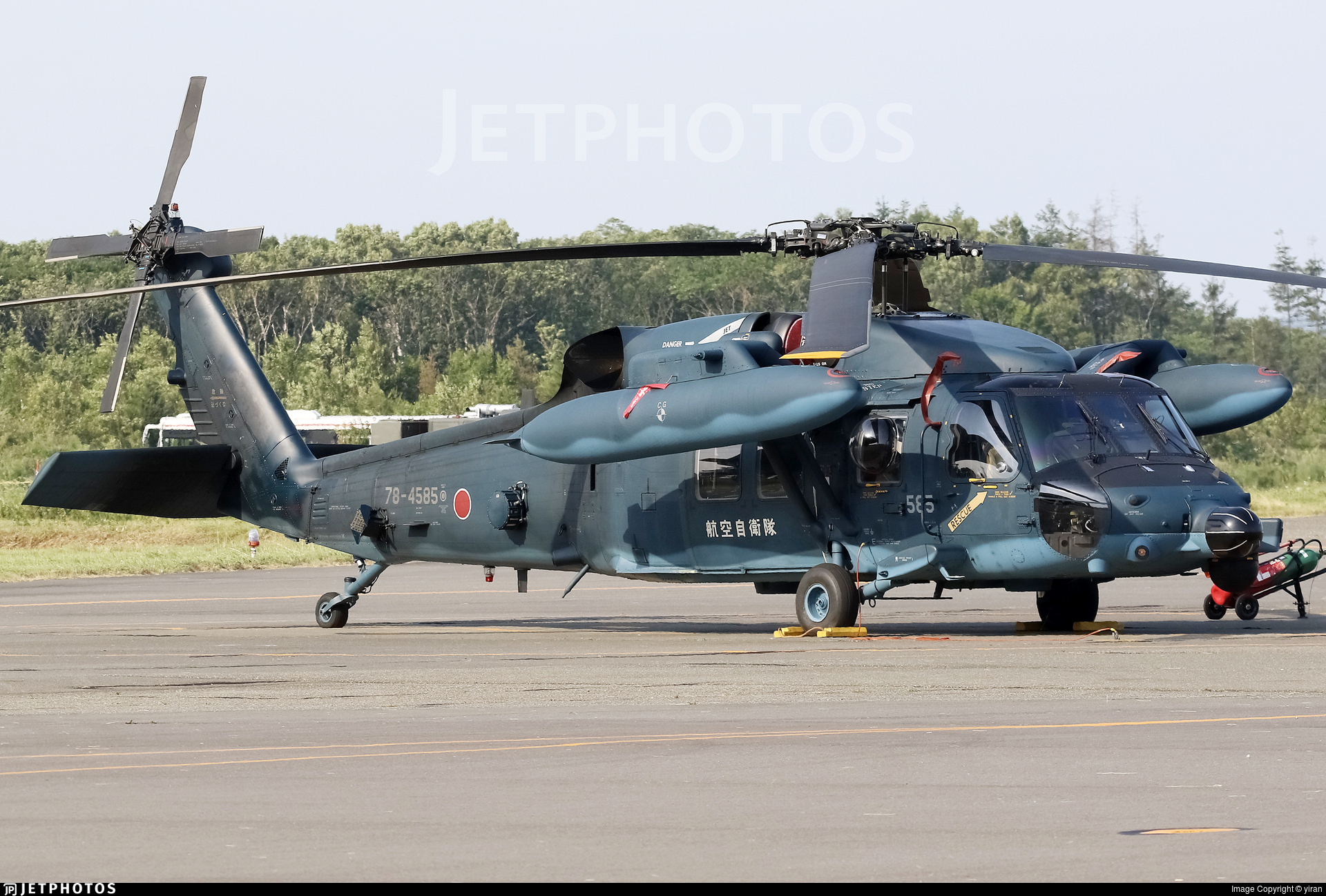 78-4585 - Mitsubishi UH-60J - Japan - Air Self Defence Force (JASDF)