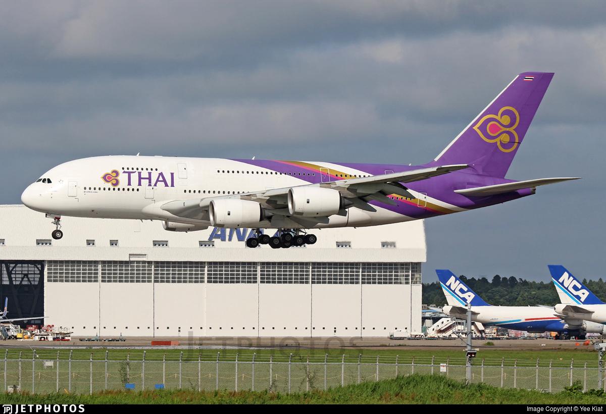 HS-TUF - Airbus A380-841 - Thai Airways International