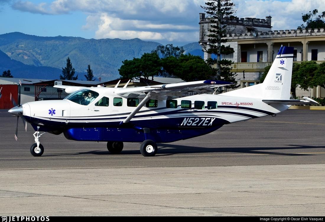 N527ex Cessna 208b Grand Caravan Ex Textron Aviation Oscar Elvir Vasquez Jetphotos