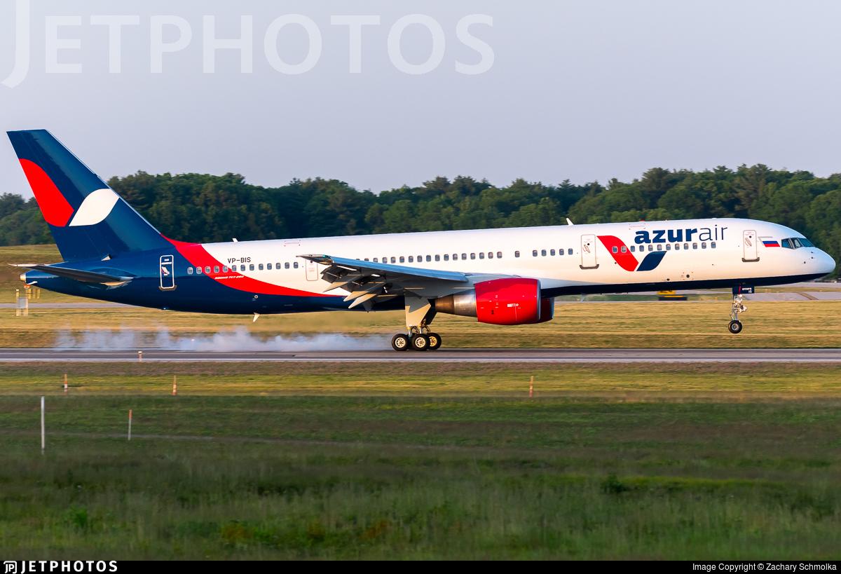 VP-BIS - Boeing 757-200 - Azur Air