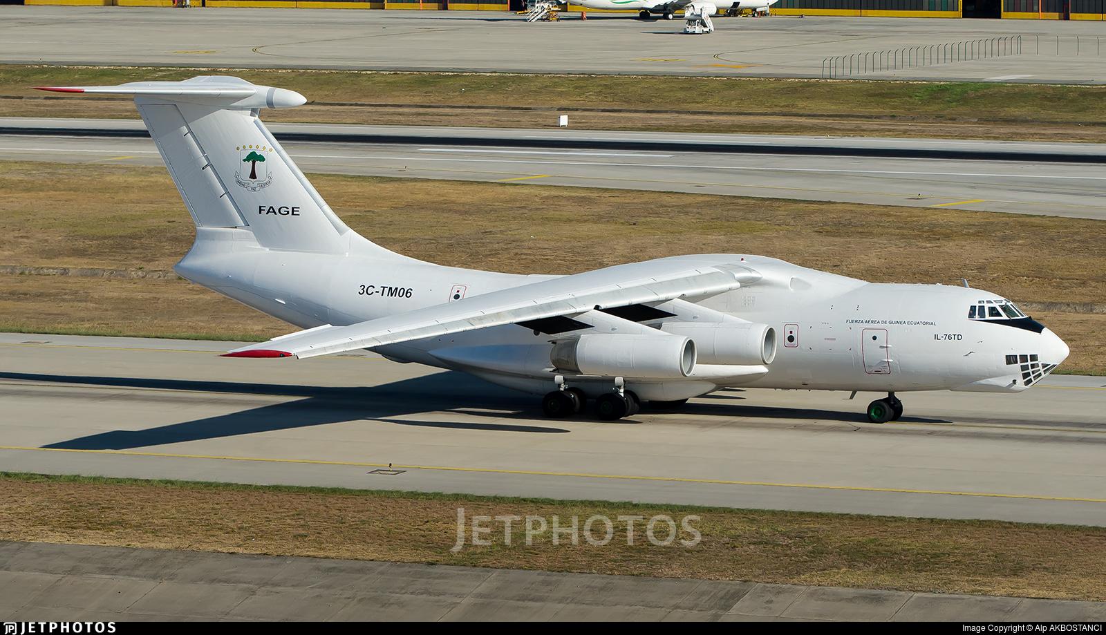 3C-TM06 - Ilyushin IL-76TD - Ecuatorial Guinea - Air Force