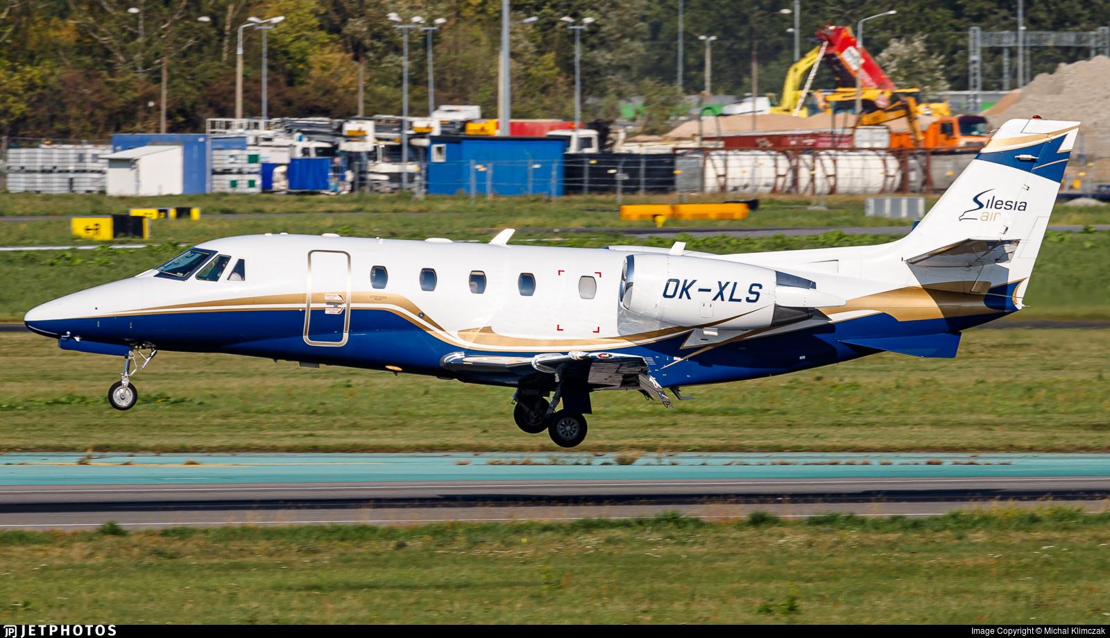 OK-XLS - Cessna 560XL Citation XLS Plus - Silesia Air