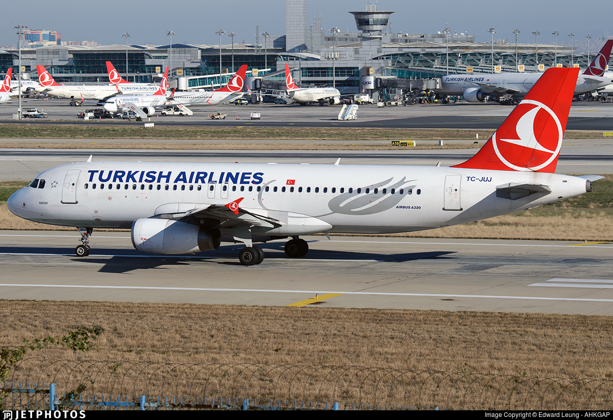 TC-JUJ - Airbus A320-232 - Turkish Airlines