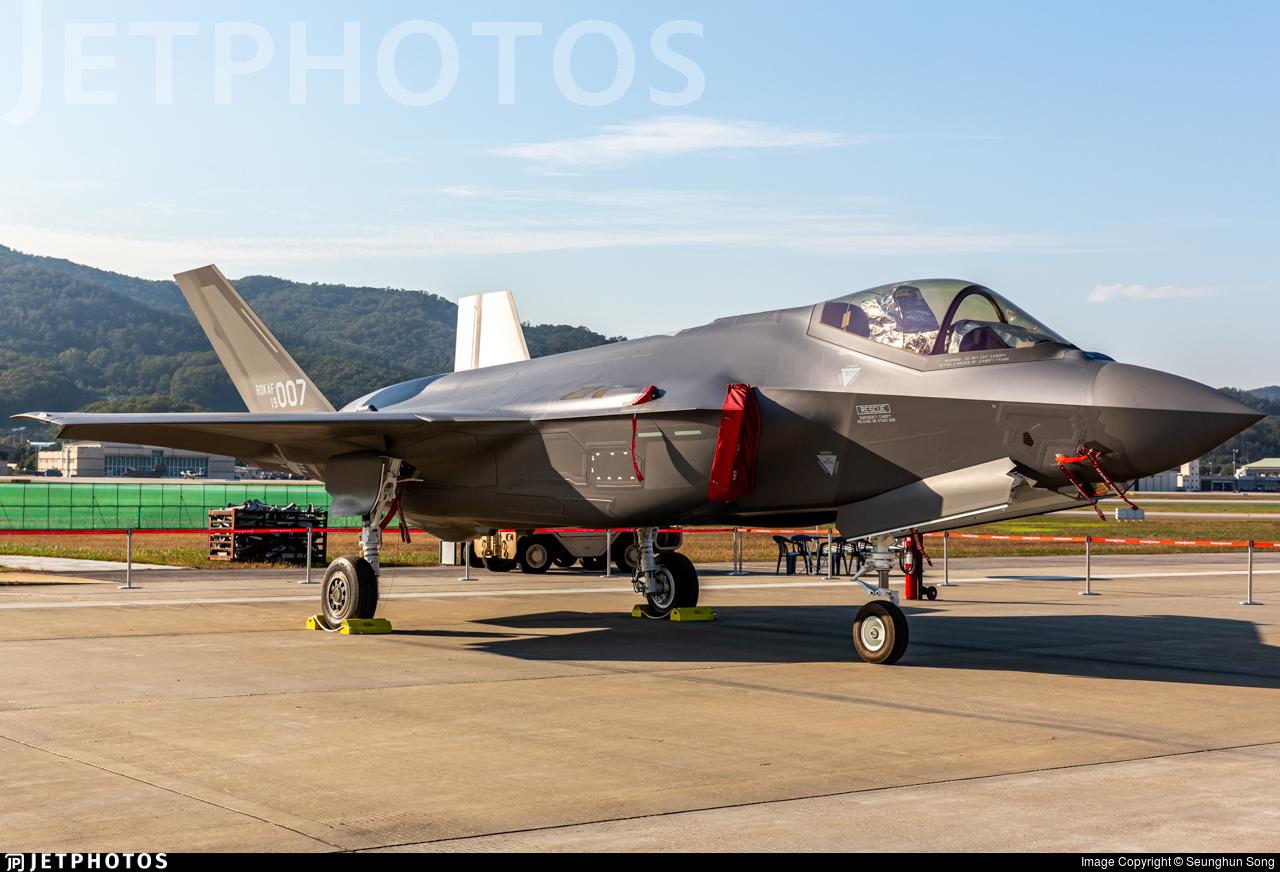 19-007 - Lockheed Martin F-35A Lightning II - South Korea - Air Force