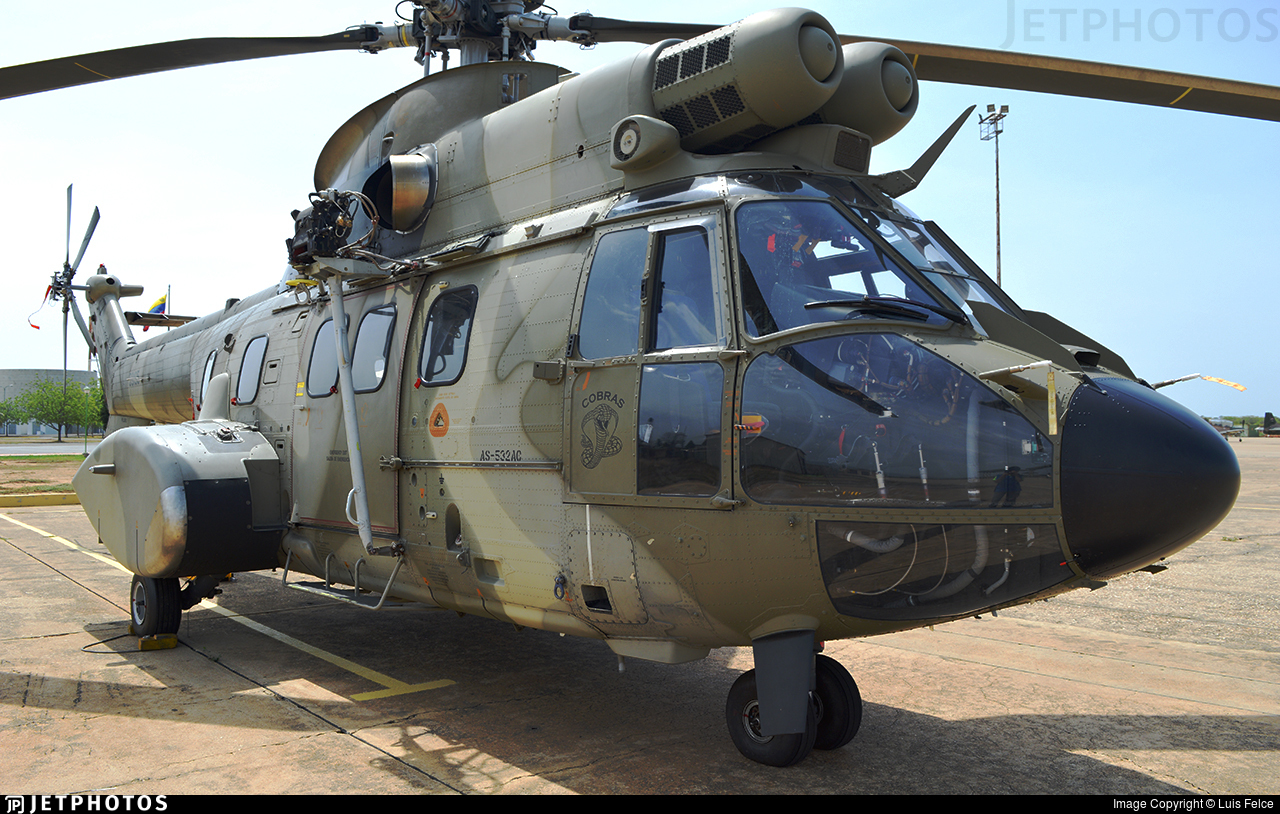 59195 - Eurocopter AS 532UC Cougar - Venezuela - Air Force