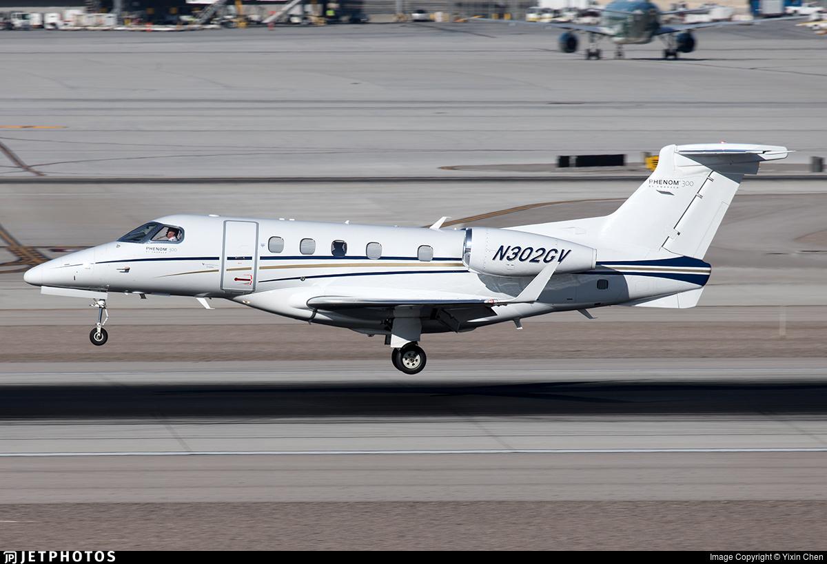 N302GV - Embraer 505 Phenom 300 - Private