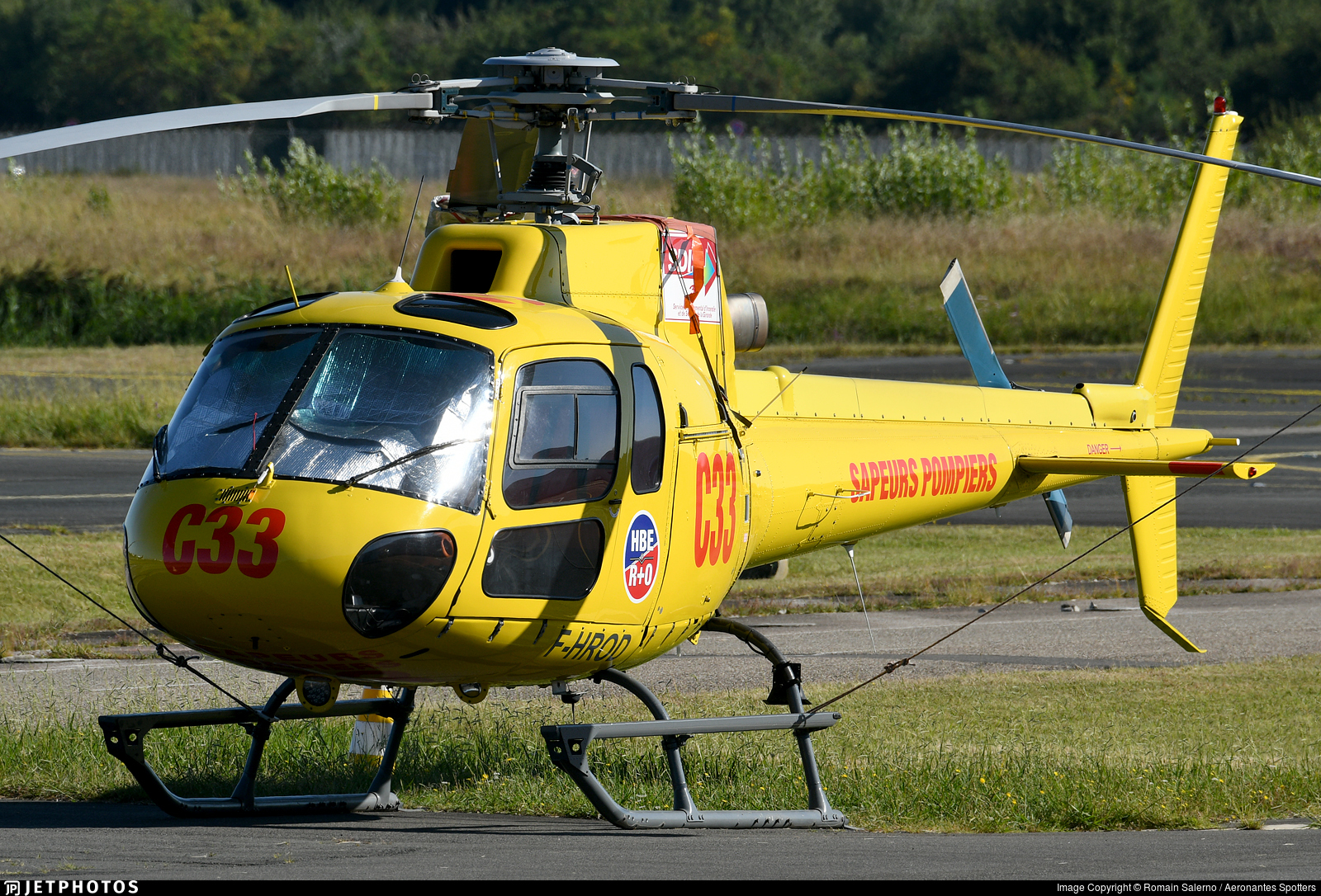 F-HROD - Eurocopter AS 350B3 Ecureuil - Héli and Co