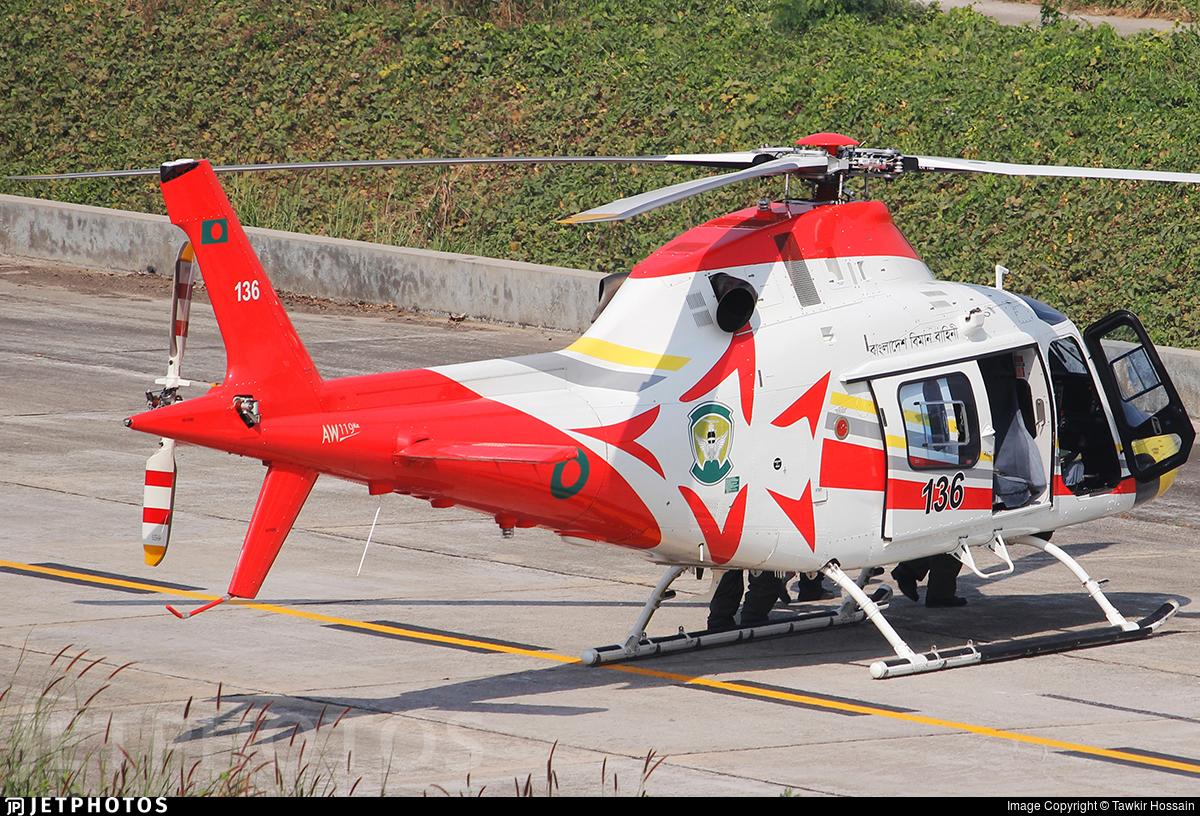 136 - Agusta-Westland AW-119Kx - Bangladesh - Air Force