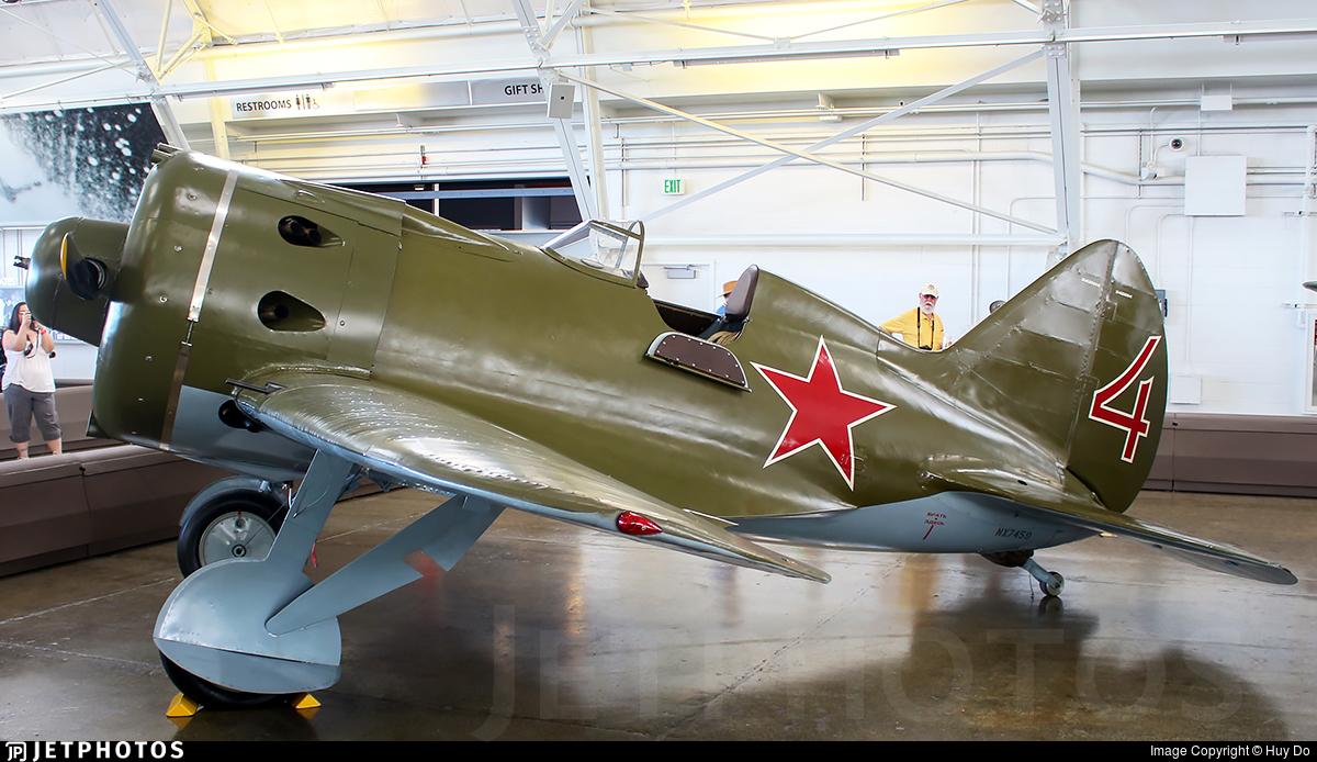 NX7459 - Polikarpov I-16 - Flying Heritage & Combat Armor Museum