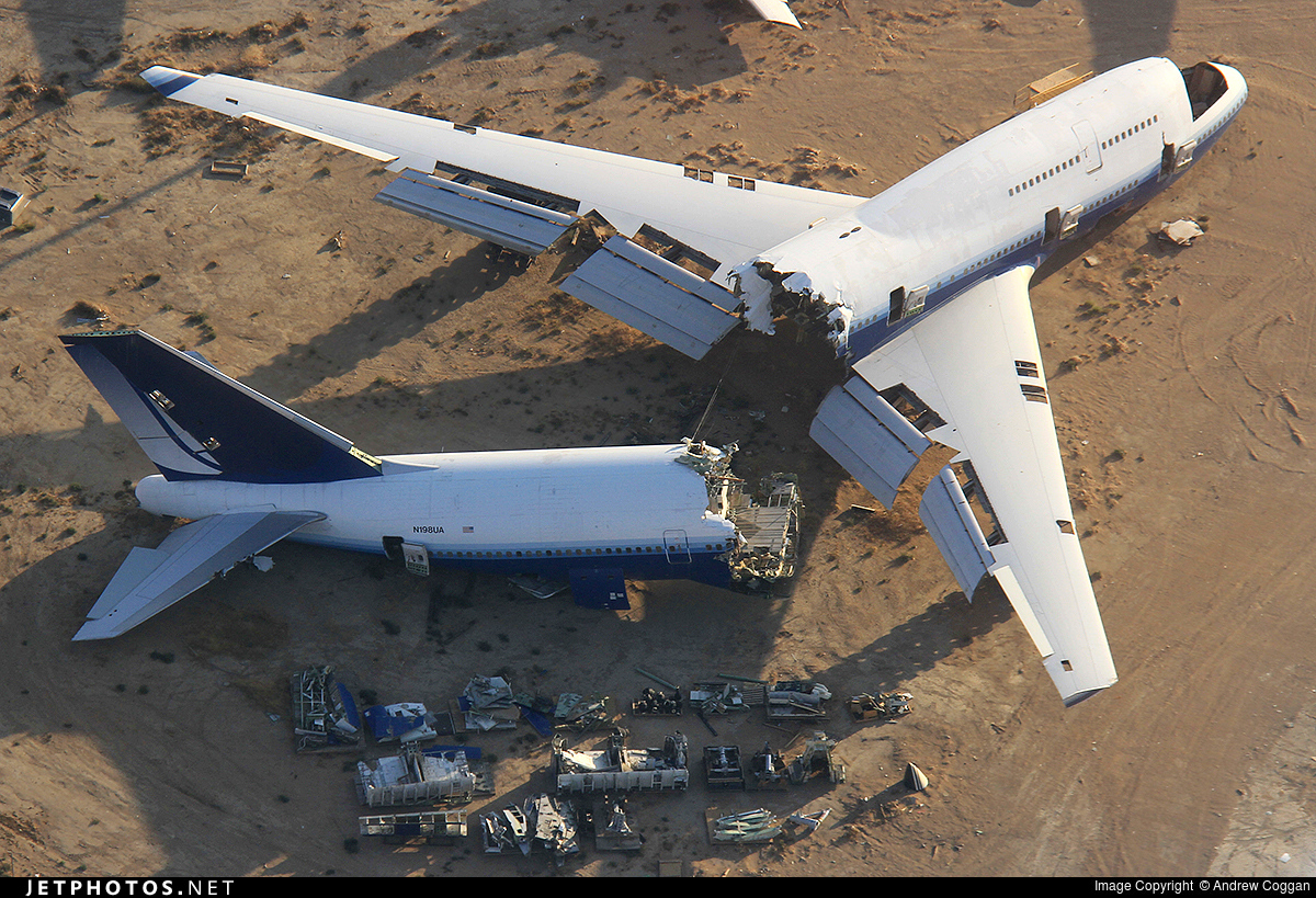 N198UA - Boeing 747-422 - Scaled Composites