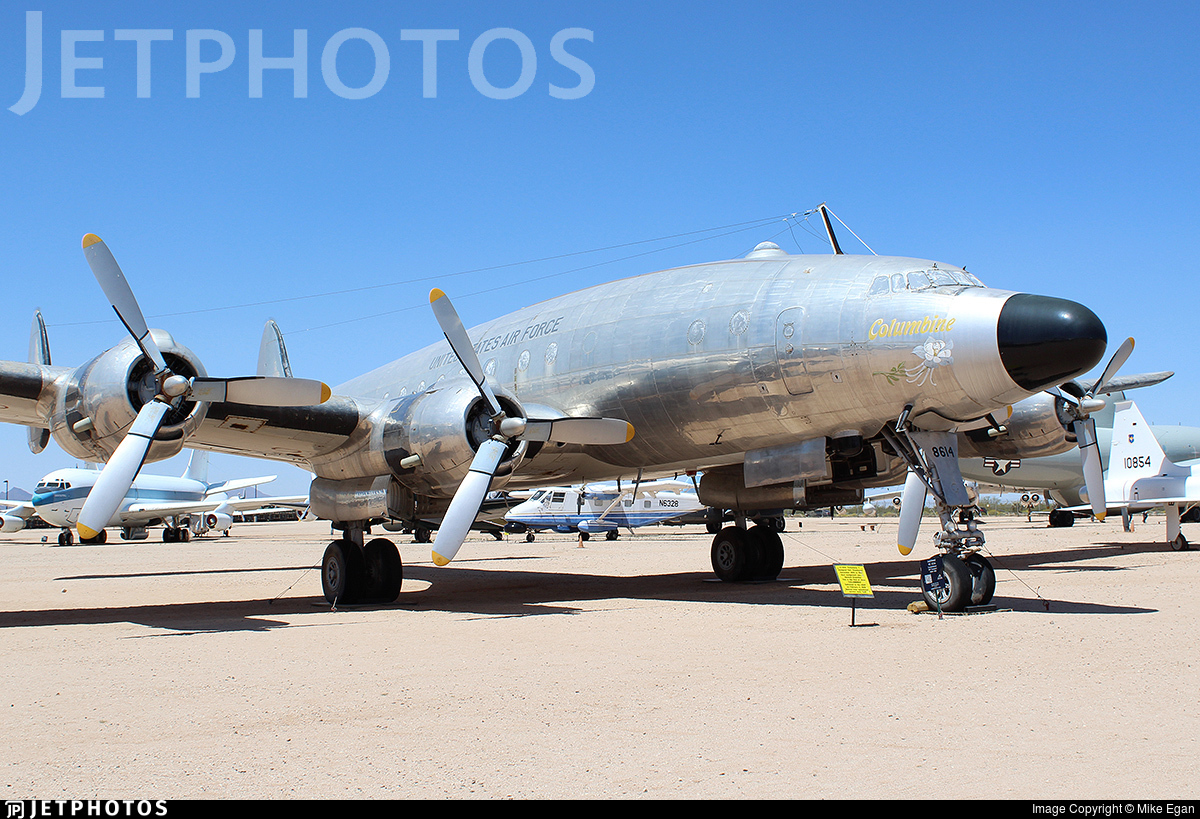 48-0614 - Lockheed C-121A Constellation - United States - US Air Force (USAF)